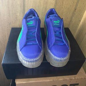 Rihanna Puma Fenty Woman Cleated Sneaker